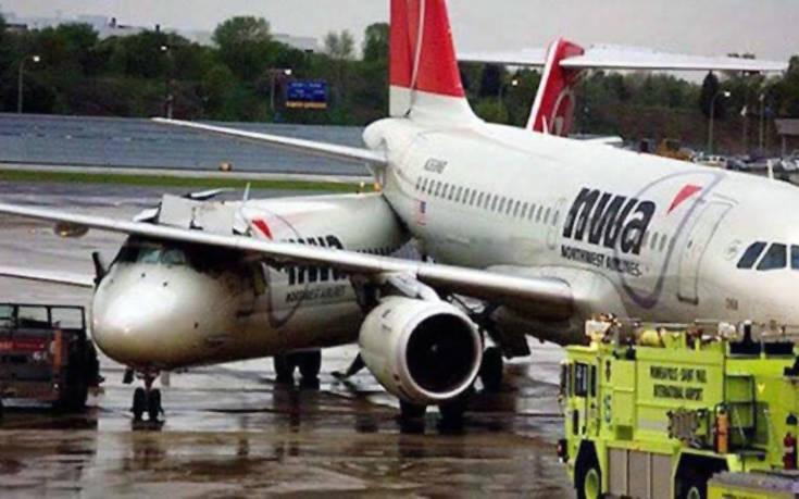 Συγκρούσεις και μικροατυχήματα με αεροσκάφη στο έδαφος